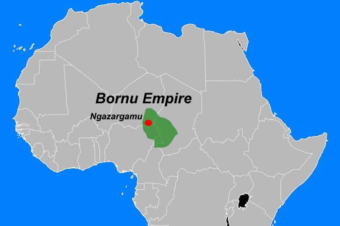 Image result for Kanem Bornu Empire