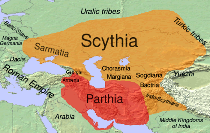 Image result for parthian empire