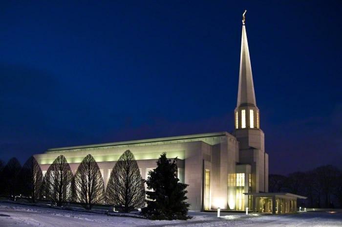 Picture Information: Preston LDS Temple