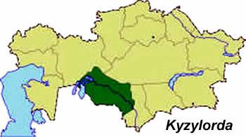 Provinces: Kazakhstan
