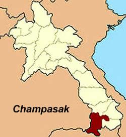 Provinces Laos